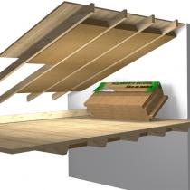 Aislamiento interior techo entre vigas aislamiento - Aislamiento termico techos interior ...
